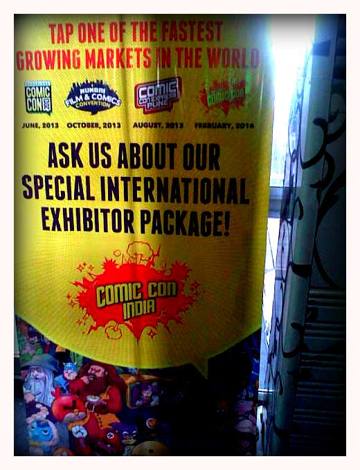 Comic Con signage