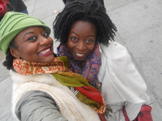 Khadi & Mai! Filming HHI in NYC!