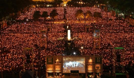 Hong Kong Tiananmen Anniversary