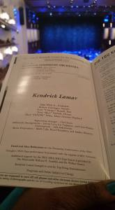 Kendrick Lamar program